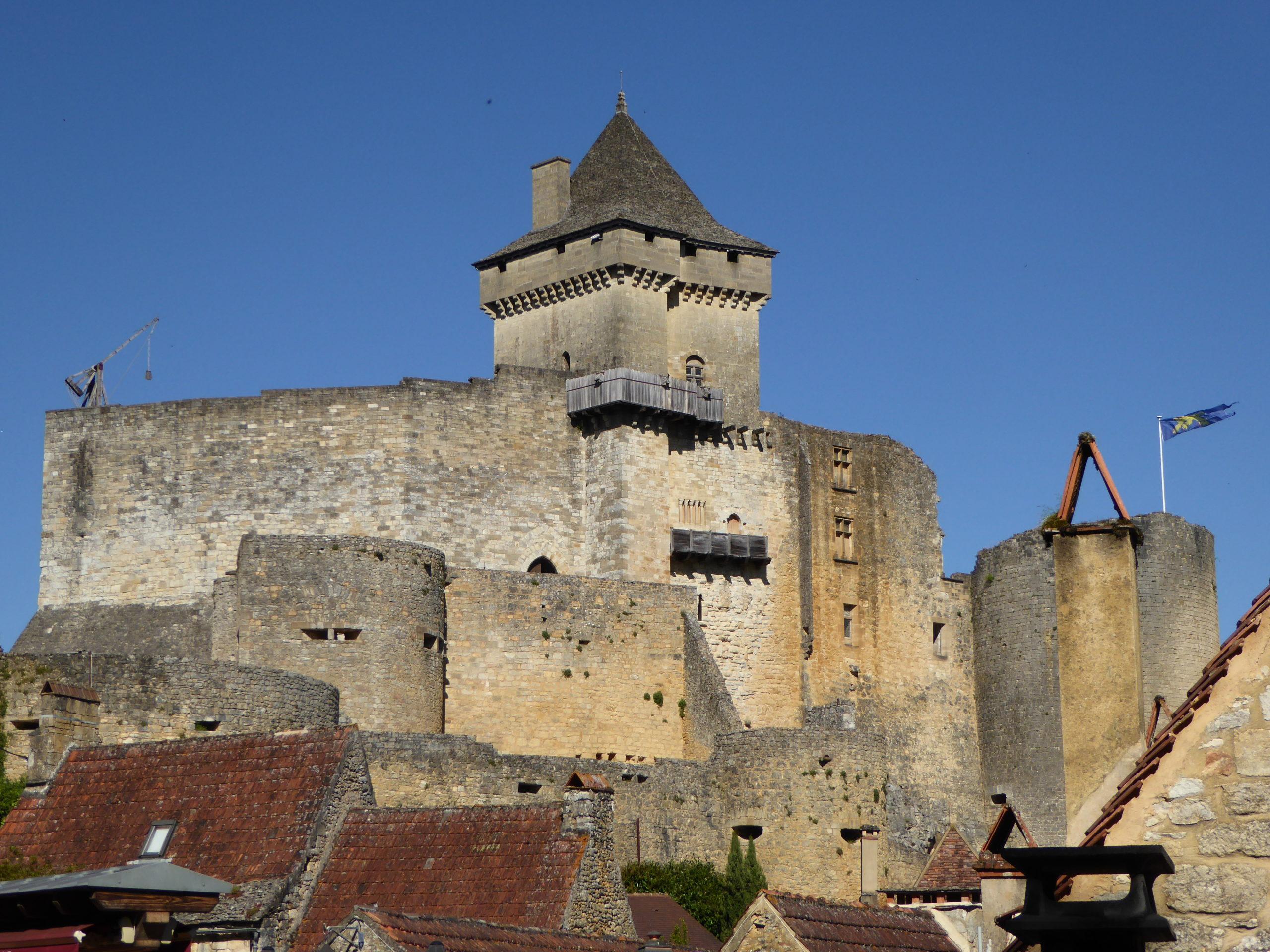 Château médiéval à visiter en Dordogne : le château de Castelnaud