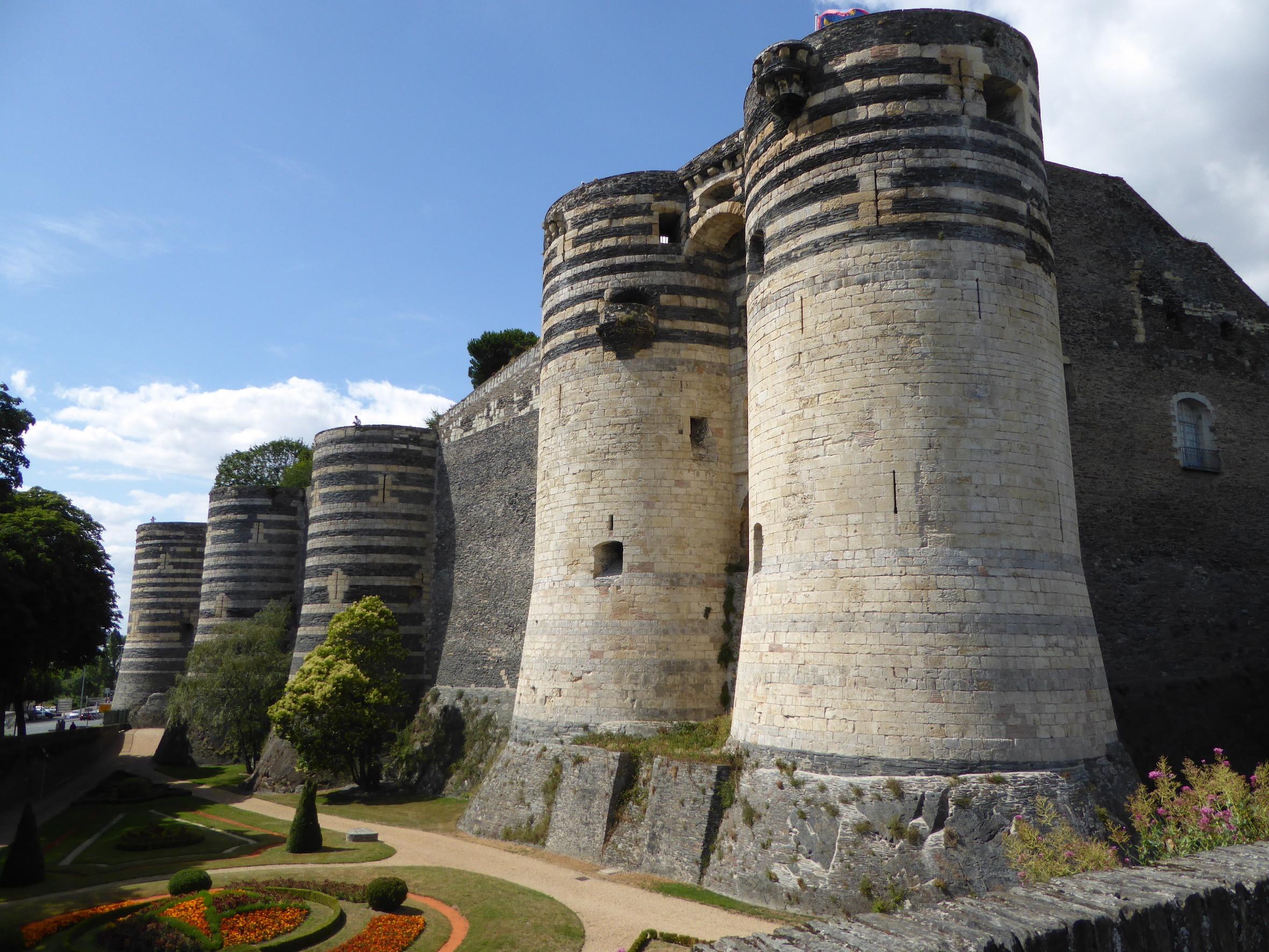 Le château d'Angers, visite en Maine-et-Loire