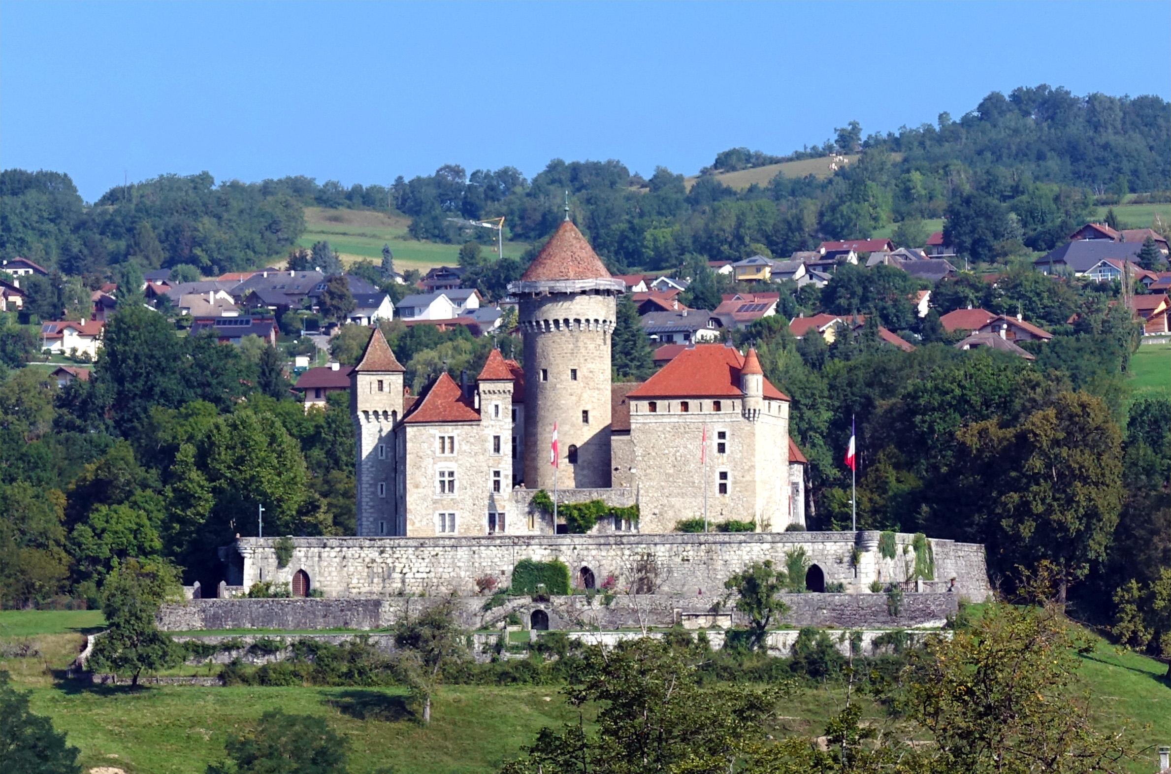 Le château de Montrottier, visite en Haute-Savoie