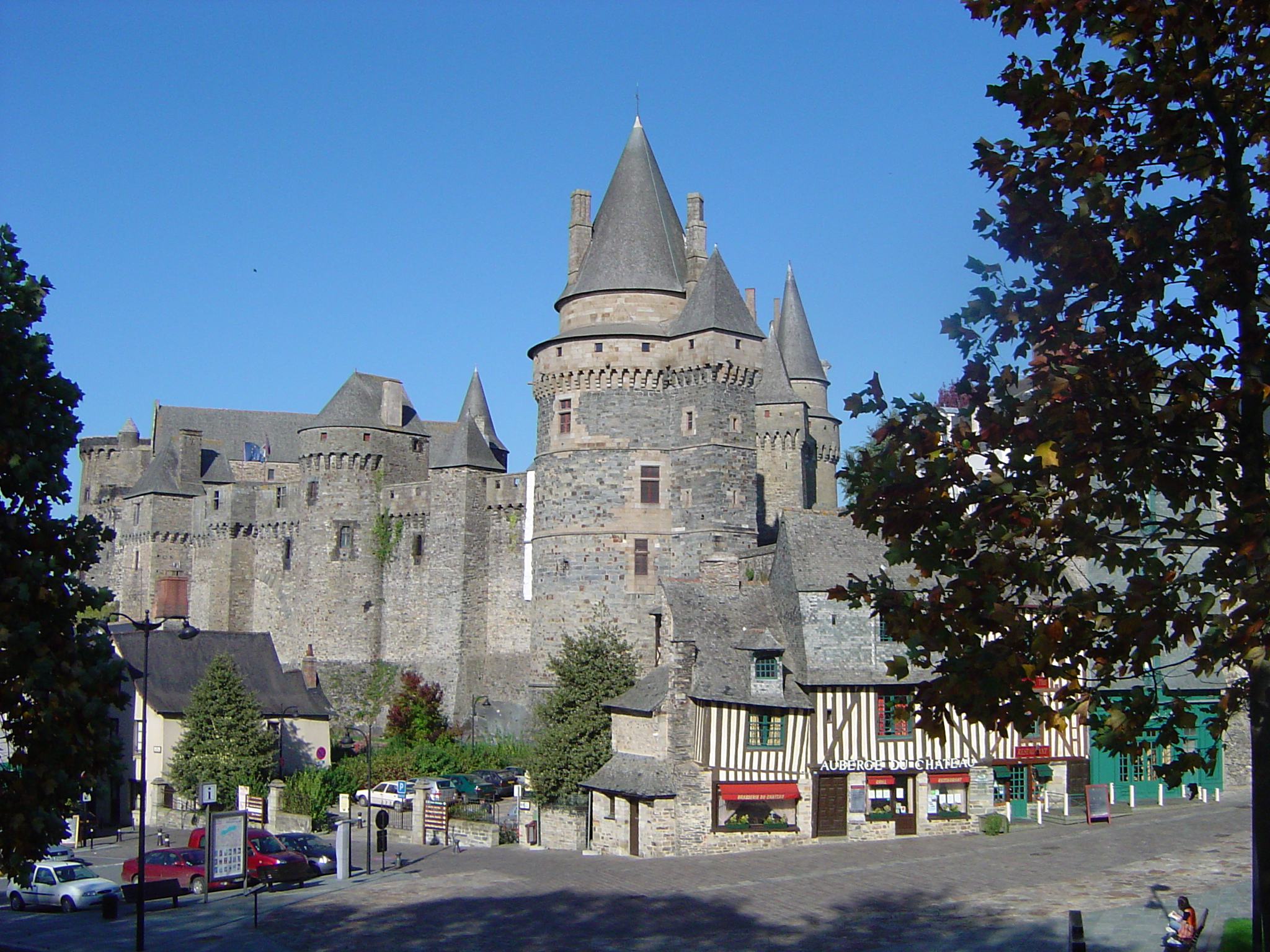 Le château de Vitré, visite en Ille-et-Vilaine
