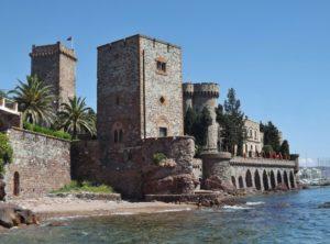 Le château de la Napoule, visite dans les Alpes-Maritimes
