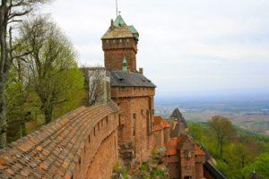 Le château du Haut-Koenigsbourg, visite dans le Bas-Rhin