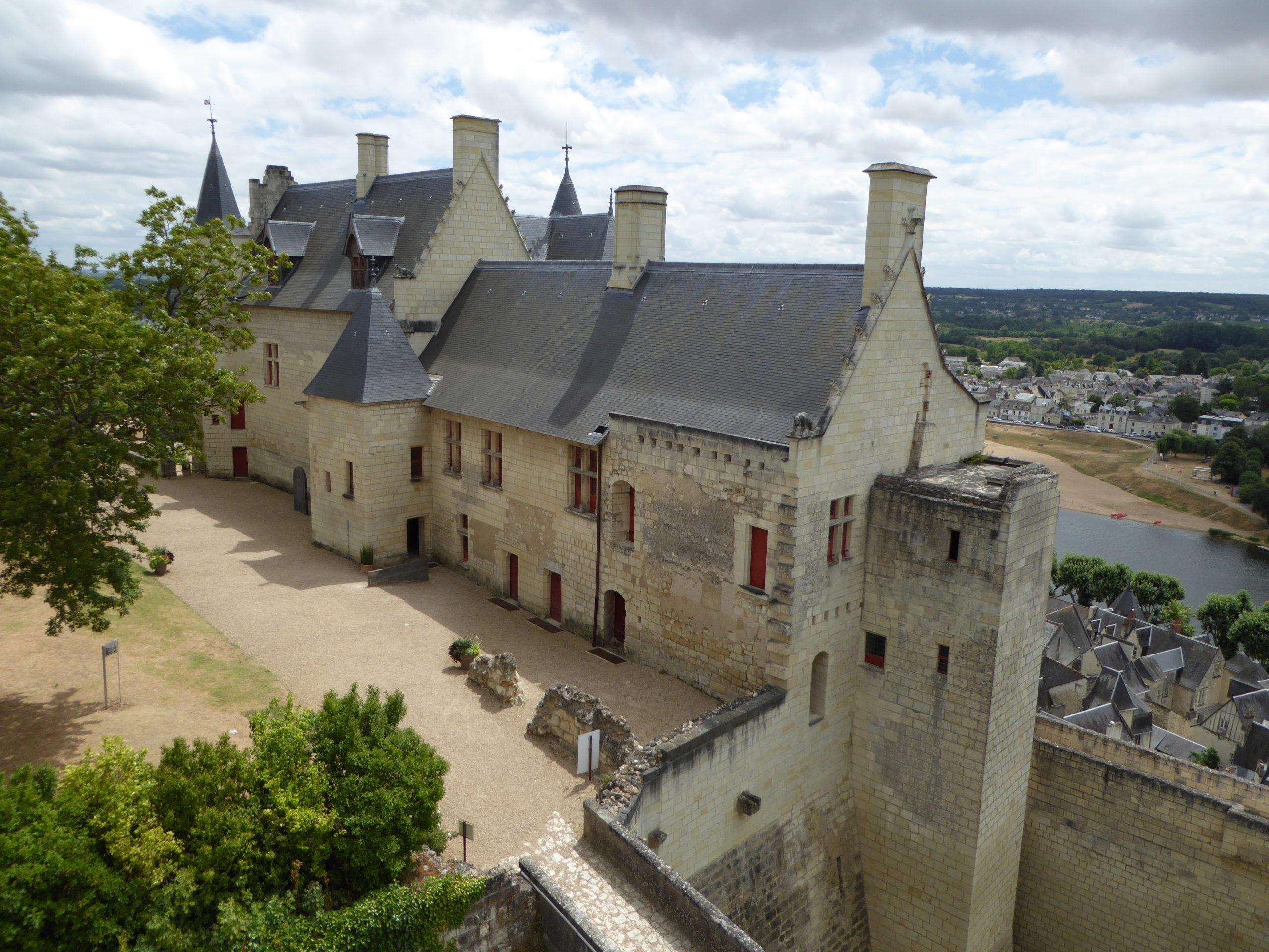 La Forteresse royale de Chinon, visite en Indre-et-Loire