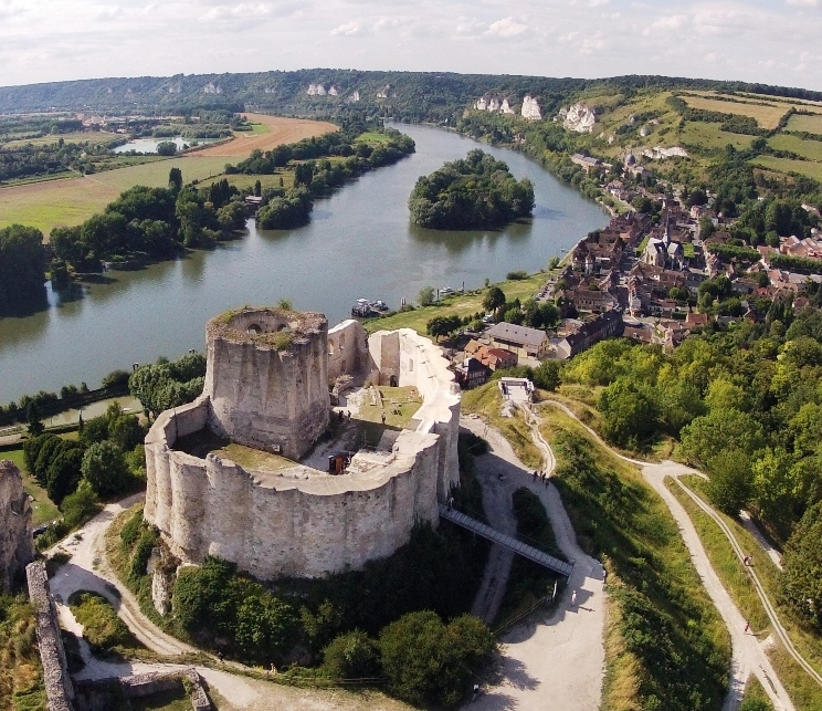Château-Gaillard, visite dans l'Eure