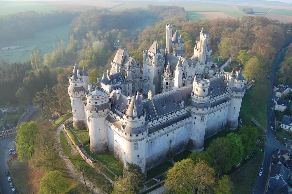 Le château de Pierrefonds, visite dans l'Oise