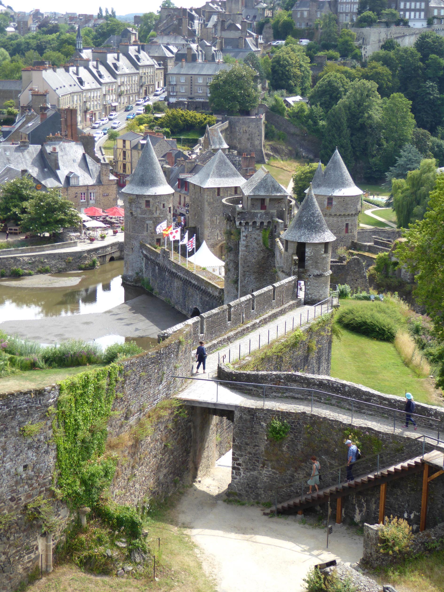 Le château de Fougères, visite en Ille-et-Vilaine