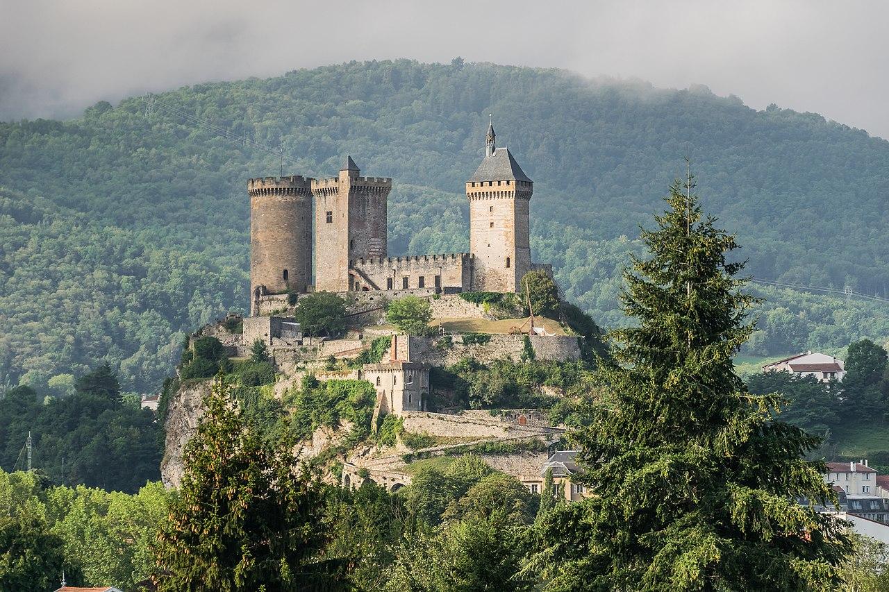 Le château de Foix, visite en Ariège
