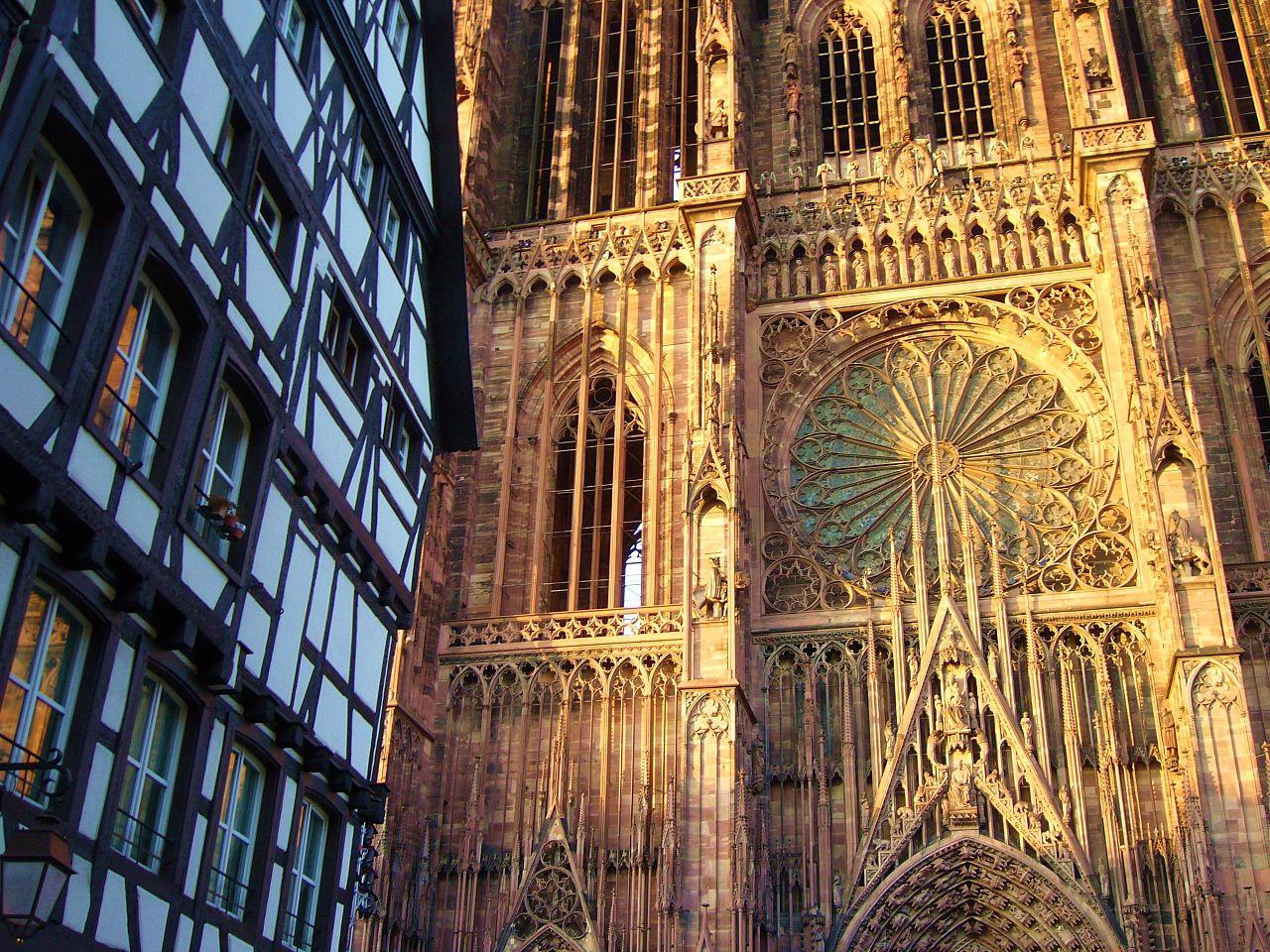 La cathédrale de Strasbourg, visite dans le Bas-Rhin